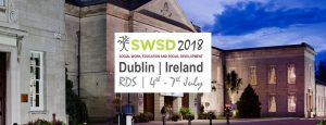 Social Work, Education and Social Development Conference -SWSD 2018